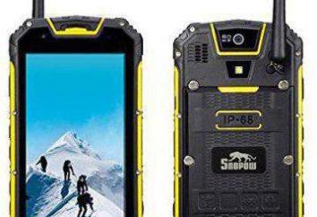 IP68 – telefone com uma bateria poderosa. Características técnicas e avaliações
