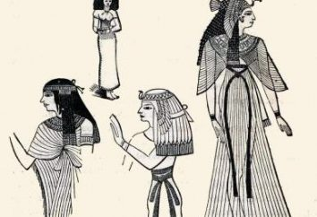 Vêtements de l'Egypte ancienne. Pharaons dans l'Egypte ancienne Vêtements