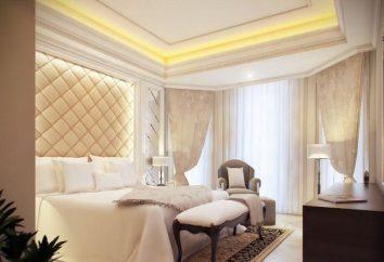 Wnętrze sypialni w nowoczesnym stylu