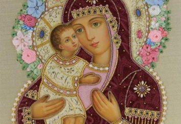 Ikone der Zhirovick Mutter Gottes: Beschreibung und Geschichte der Ikone