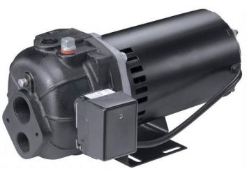 Bombas de agua profunda: fabricantes, diagrama de cableado
