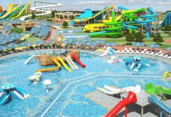 Parque acuático en Kirilovka: descripción, servicios, atracciones y comentarios