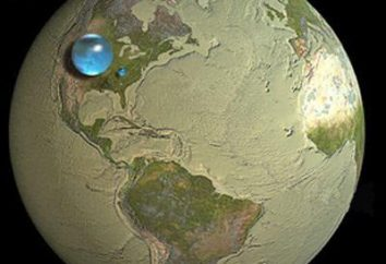 ¿Qué porcentaje del agua en la Tierra? Hidrosfera de un planeta e incluso los componentes