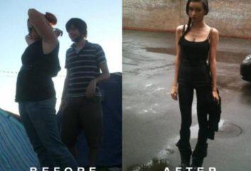Felis Fawn: zdjęcie przed i po utracie wagi. Historia Felicji Fawn
