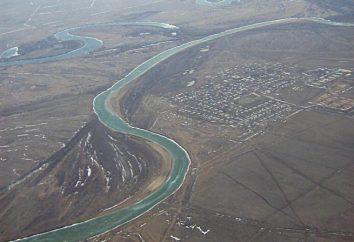 Legierungen auf den Flüssen des Urals. berg-Fluss