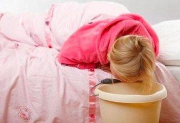 A criança vomitou a noite, o que fazer?