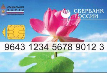 Carte sociale de la Sberbank. Sberbank: carte sociale pour les retraités