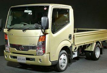 """Visão geral dos novos caminhões restyled """"Nissan Atlas"""""""