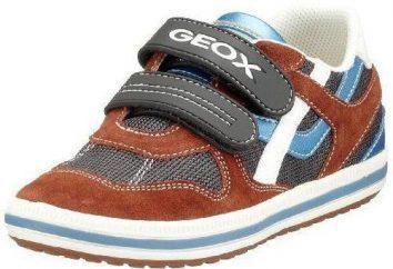 calçados infantis Geox – a qualidade ea beleza
