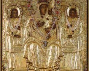 Cipro miracolosa icona della Madre di Dio
