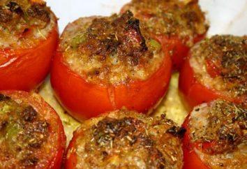 los tomates al horno: en el horno, se puede cocinar de diferentes maneras