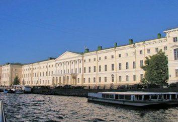 Sheremetyevsky palacio y su belleza (foto)