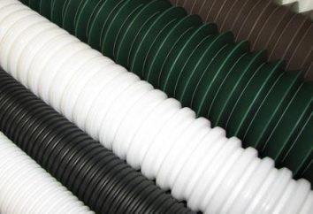 Wellrohr PVC: Beschreibung und Bezeichnung
