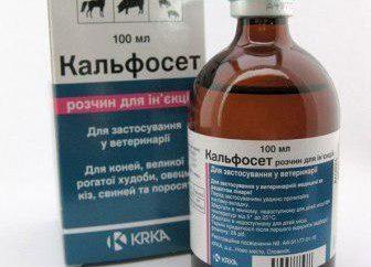 """Leki weterynaryjne """"Kalfoset"""": instrukcje użytkowania"""