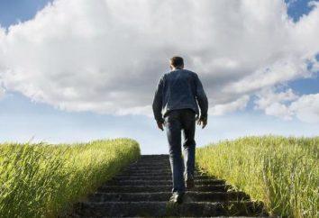 Dans le rêve de l'échelle pour grimper jusqu'à ce que ça veut dire?