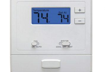 Termostato para la calefacción por suelo radiante: conexión y características