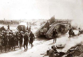A principal batalha da Primeira Guerra Mundial. batalhas principais da Primeira Guerra Mundial