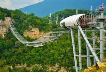Extrema Parque, descrição Sochi, características, serviços e comentários