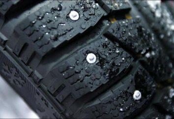 Correndo pneus com pregos Inverno. Como e quanto para executar em um novo pneus com pregos