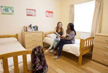 A medida que los estudiantes viven en un dormitorio, ya que cómodo allí?