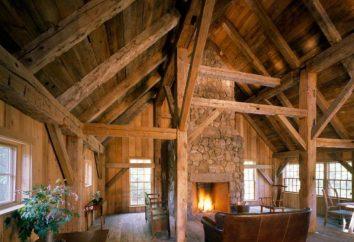 Kominek w drewnianym domu: instalacja urządzeń Cechy i opinie
