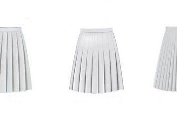 Moda falda plisada – un atributo básico del guardarropa de cualquier mujer