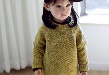 Jak na drutach sweter dla dziewczynki mówił?