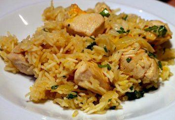 Cómo cocinar el risotto con pollo en la dieta multivarka