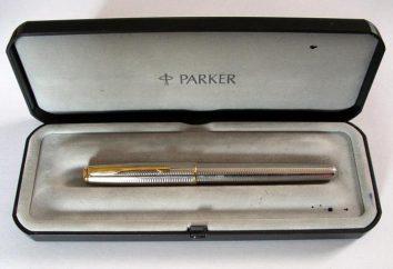 """Penna stilografica """"Parker"""": recensioni, foto. Come riempire la stilografica """"Parker""""?"""
