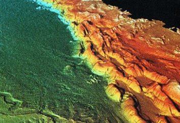 La corteza terrestre – cáscara dura superior de la Tierra