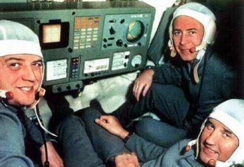 Cosmonauta Volkov. Três destinos, um nome