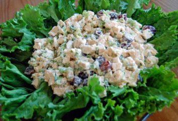 La salade originale aux champignons et poulet: la recette
