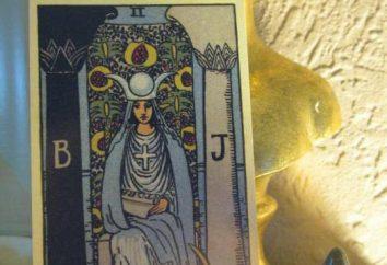 Kapłanka: wartość (taro). Wartość karty Kapłanka z Tarota w związku