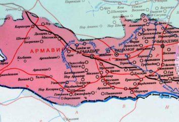 Region Krasnodar, Armawir: Bevölkerung, Klima und Umgebung. Die Zahl der Bevölkerung und Beschäftigung Armawir