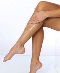 en casa salón de belleza: depilación crema