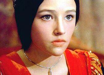 Hussey Olivia è la migliore Juliet. Filmografia e biografia di Olivia Hussey