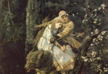 Nennen Vasnetsovs Gemälde und ihre Beschreibung