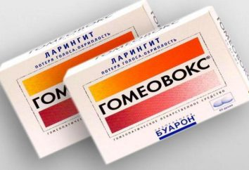 « Gomeovoks »: mode d'emploi, analogues. analogique pas cher « Gomeovoksa »