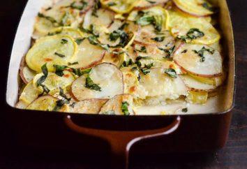 Comment mettre la courge et les pommes de terre de différentes manières? recettes originales