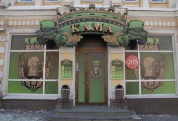 """Piwo restauracja """"Kama"""" (Perm): opis, menu i ocena użytkowników"""