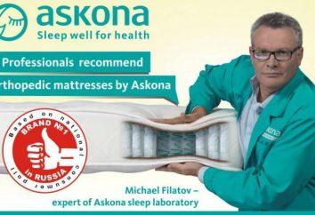 """Materac """"Ascona Fortune"""": opinie klientów, zdjęcia"""