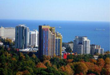 Wakacje w Soczi w listopadzie: opinie, pogoda, hotele i atrakcje