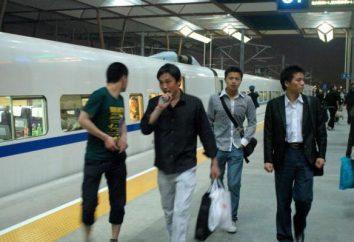 O metro mais jovem do mundo: Xangai mapa do metrô