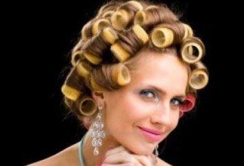 Wie das Haar auf Wickler Tipps Friseure aufzuwickeln