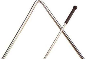 Musikinstrument Dreieck. Interessante Fakten