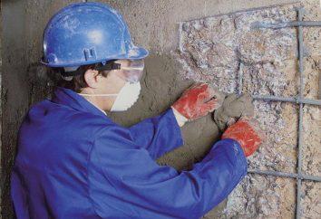 Las reparaciones en la mezcla de concreto. Variedades, especificaciones, instrucciones
