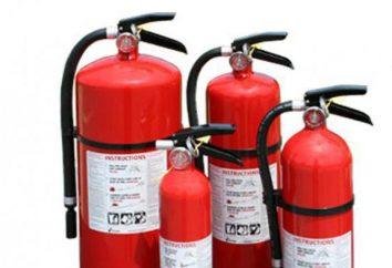 Que tipo de extintores pode ser usado para extinguir instalações elétricas em caso de incêndio?