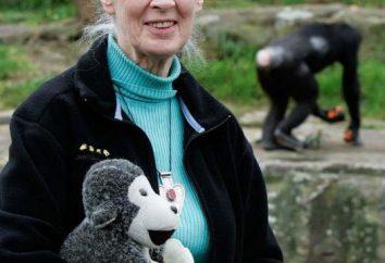 Dzheyn Gudoll, primatologist: biografia