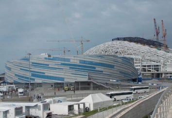 Le stade olympique «Fisht» s'inspire grandement du fond de la montagne éponyme