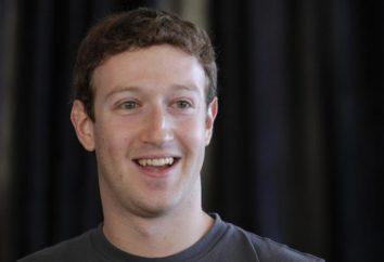 Mark Zuckerberg – le créateur de Facebook